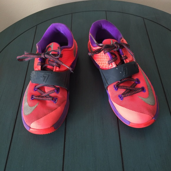 Kd Kevin Durant Pink Purple Gray Nike
