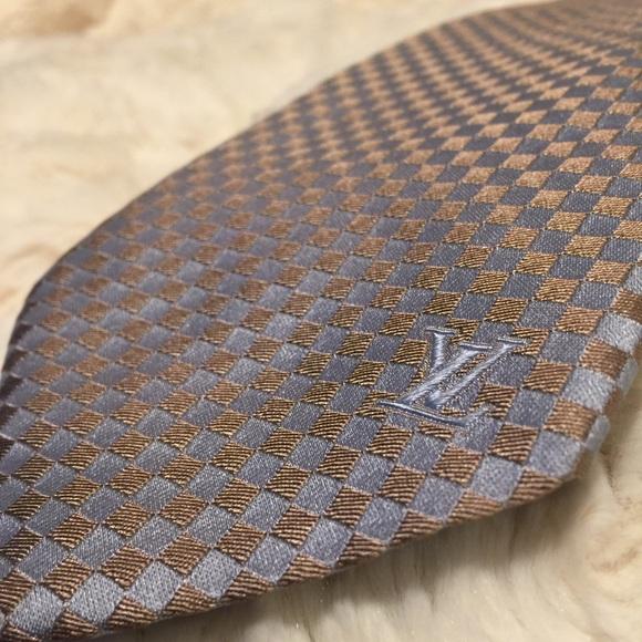139d0415cdb1 Louis Vuitton Other - LOUIS VUITTON Sml Damier Classiques Tie ✨Authentic