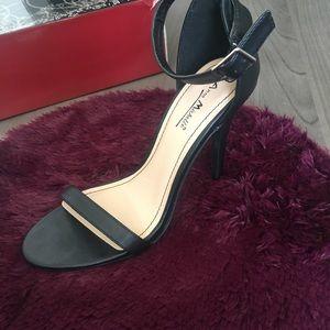 Anne Michelle Shoes - ANNE MICHELLE ANKLE STRAP SANDAL HEELS