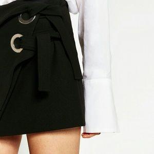Zara mini skirt with bows