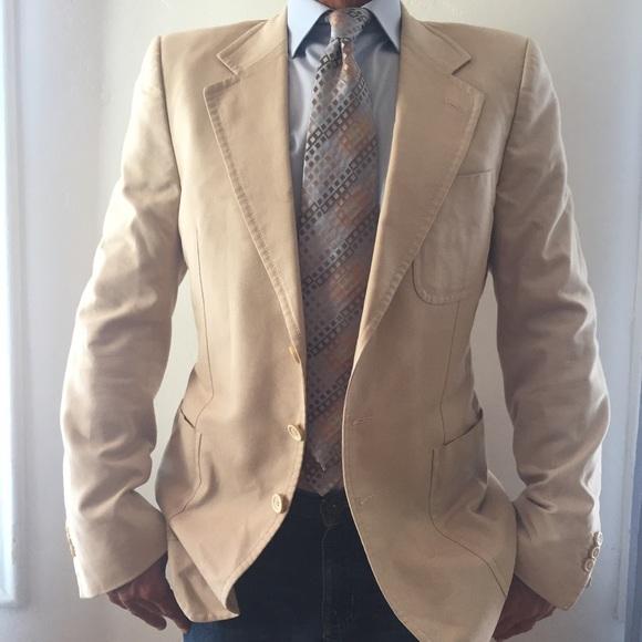 42fe23db64a Yves Saint Laurent Jackets & Coats   Rive Gauche Mens Sports Blazer ...