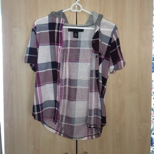 Polly & Esther Tops - Cute flannel