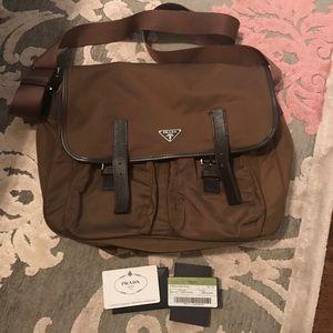 Prada Handbags - PRADA vela sport messenger bag