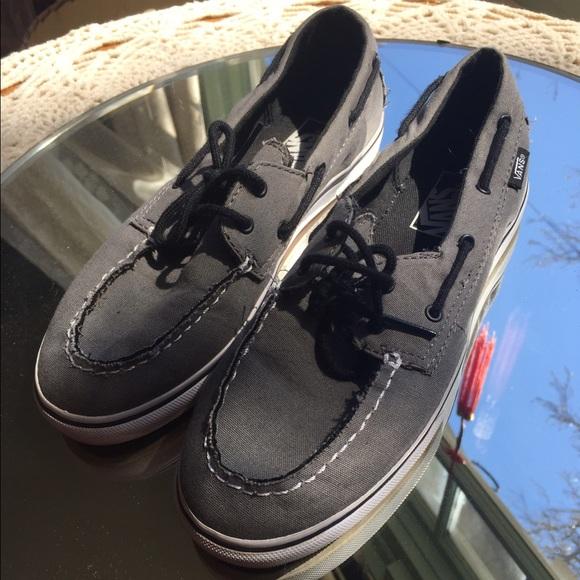 edd2fffa5c Vans Zapato Lo Pro Pewter Grey Boat Shoes. M 58c5a9e4bcd4a764a20172b7