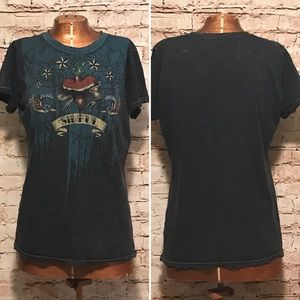 Sinful Tops - Sinful By Affliction Sparrow T-shirt
