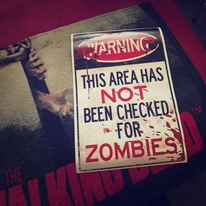 Hot Topic Other - Zombie 13x18 1/2 poster... Brand new!