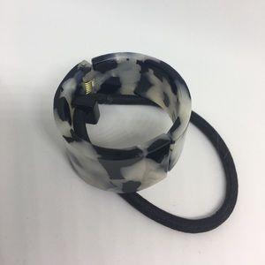 L.Erickson Other - L.Erikson Claire Cuff Pony Hair Tie Elastic Sorbet