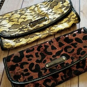 Betsey Johnson Handbags - BETSEY JOHNSON clutch bundle with strap