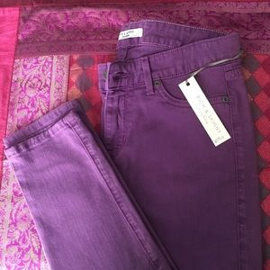 Rich & Skinny Purple Low Rise Skinny Jeans