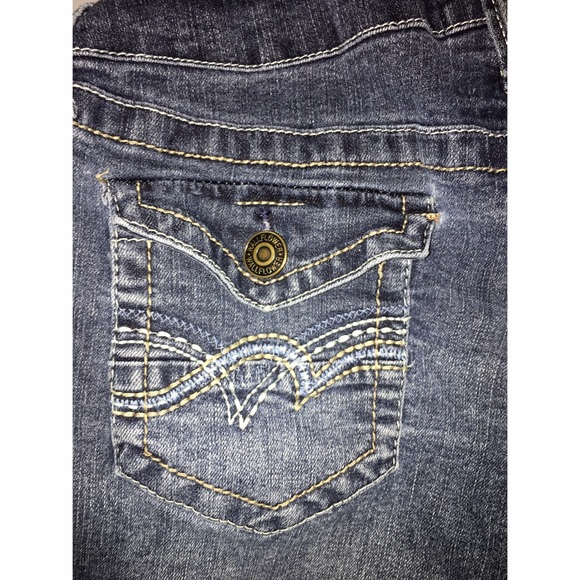 Shorts - Wallflower Denim Maternity Jean shorts Sz Large