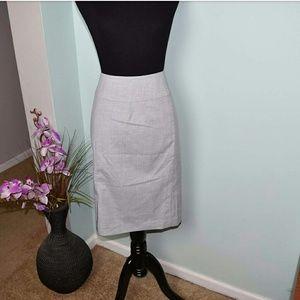 Dresses & Skirts - Gorgeous Light Grey Lined Skirt