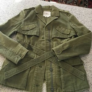 Anthropologie military inspired jacket, Sz Small