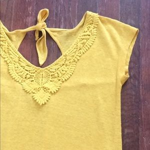 Lucky Brand Tops - Lucky Brand Lace Embroidered Top