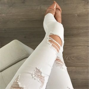 boutique Denim - 💔⤵️Down to 8💔The Private Room Ripped ANKLE Jeans