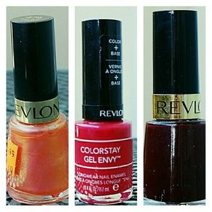 Revlon Other - REVLON Nail Polish Bundle