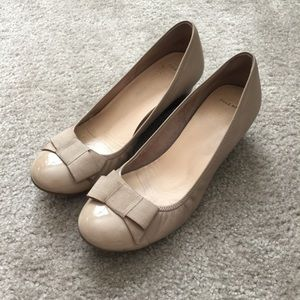 Cole Haan Shoes - Cole Haan nude wedges size 8.5