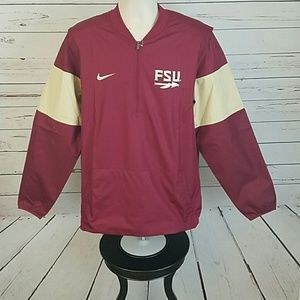 nike Other - Florida State Seminoles Pull Over Storm Fit Jacket