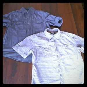 First Wave Other - Boys 100% Cotton Button Down