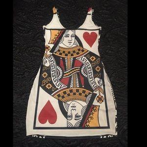 Blackmilk Dresses & Skirts - BlackMilk Clothing Queen of Hearts Bodycon