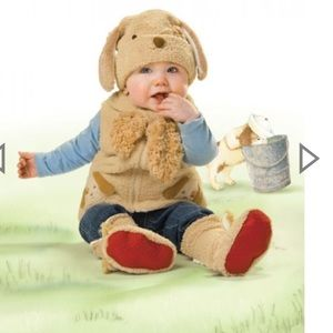 Bunnies by the Bay Other - Puppy vest & hat