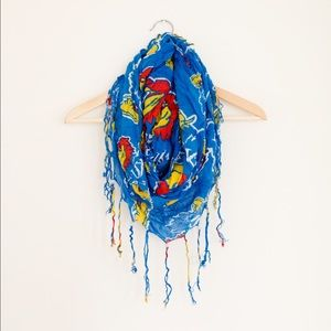 KU infinity scarf