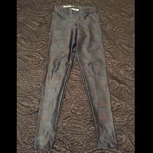 Blackmilk Pants - BlackMilk Clothing Invisible Zombies Leggings