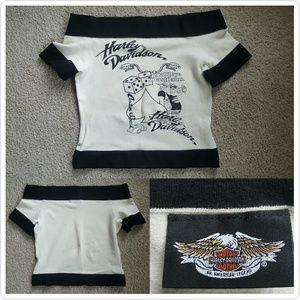 Harley-Davidson Tops - Vintage Harley Davidson Crop Top
