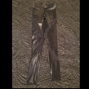 Blackmilk Pants - BlackMilk Clothing Black WL Hurricane Leggings