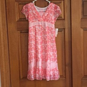 Hype Other - NWT coral&pink dress w/rhinestone,great for Easter