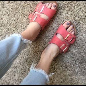 """Breckelles Shoes - Breckelle """"Birkenstock"""" sandals"""