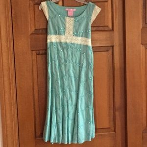 Hype Other - NWT girls sequin and knit dress, great for easter