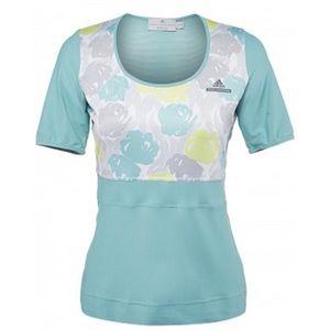 Adidas by Stella McCartney Tops - Adidas x Stella McCartney Floral Climachill Tee