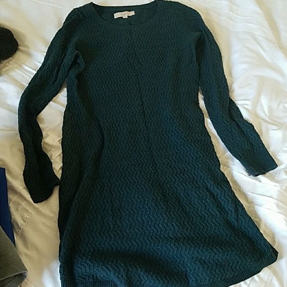 Poshmark Sweater Medium Dress Loft Green DressesEmerald XOPuZik