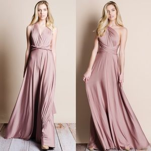 Bare Anthology Dresses & Skirts - Multiway Convertible Maxi Dress