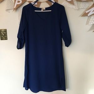 Dresses & Skirts - Navy shift dress