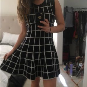 JOA  knit dress