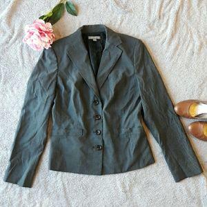 Ann Taylor Jackets & Blazers - Ann Taylor grey suit blazer jacket