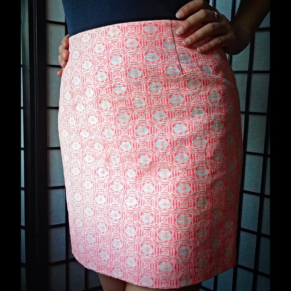 GAP Dresses & Skirts - Hot Pink Jacquard Skirt 💕