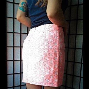 GAP Skirts - Hot Pink Jacquard Skirt 💕