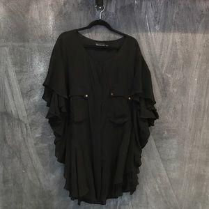 Shakuhachi Dresses & Skirts - Black frill dress