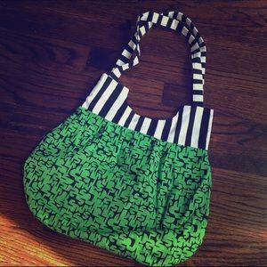 Hand Made Handbags - NWOT Handmade Beetlejuice Like Purse - Lime Green