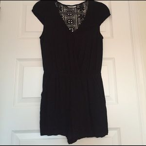 Other - JOE B Black Romper with lace back