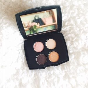 Lancome Other - {lancôme} • blush and gold quad eyeshadow palette