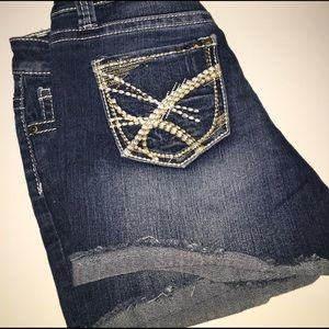 ZCO Pants - ZCO Distressed Jean Shorts