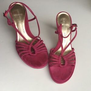 Antonio Melani Shoes - Antonio Melani High Heel Fuchsia Shoes Dressy 7.5