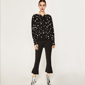 Brand New with Tags Zara Star Top Button Up size M