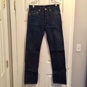 APC Other - APC dark denim raw jeans (Men's)