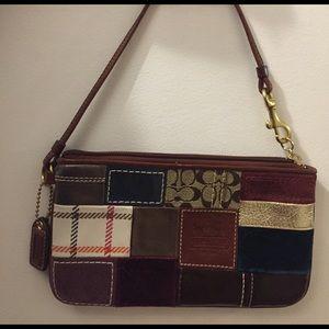 Coach Handbags - Coach clutch, never used!