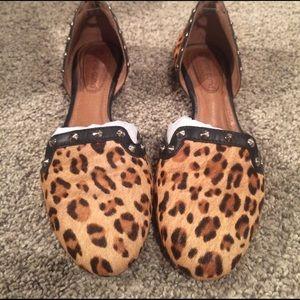 Corso Como Shoes - Corso Como Regal Leopard Flats Size 6.5