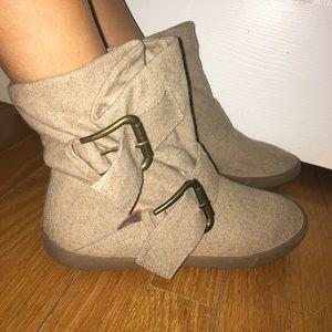 Blowfish Shoes - Blowfish Tan Small Boots